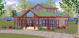 Cabin Cottage Southern House Plan 72332 Elevation