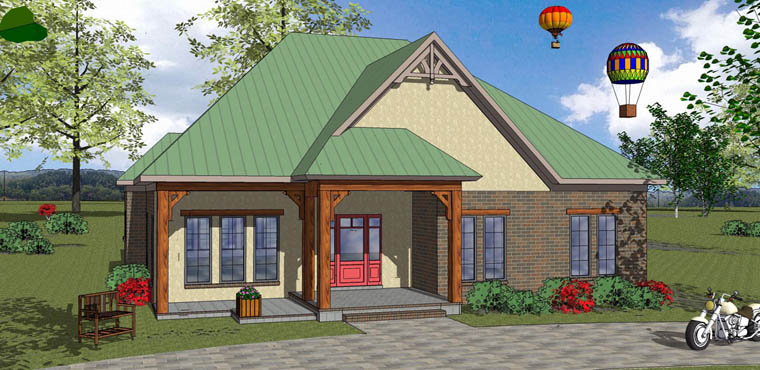 House Plan 72341 Elevation
