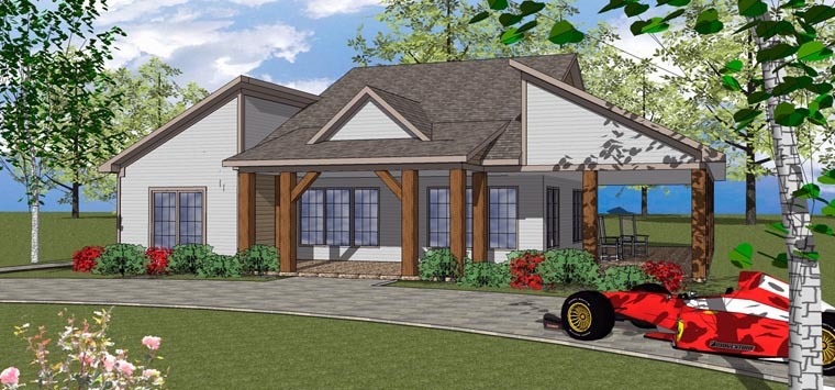Coastal , Southern House Plan 72369 with 3 Beds, 3 Baths Elevation