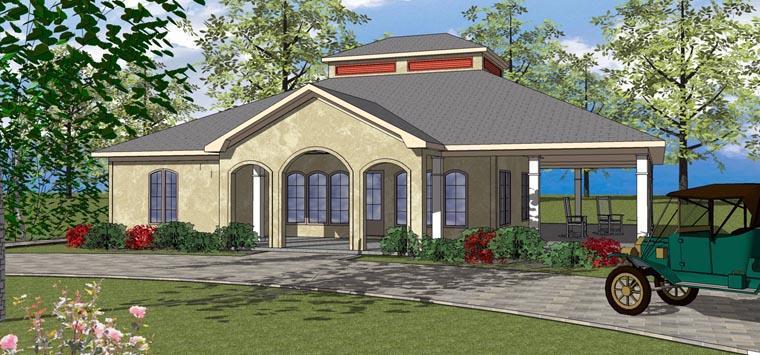Coastal Southern House Plan 72372 Elevation
