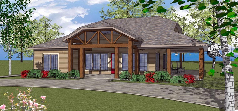 Coastal Southern House Plan 72373 Elevation
