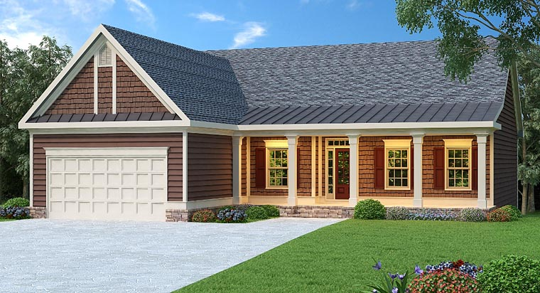 Ranch House Plan 72500 Elevation