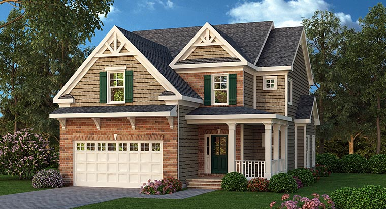 House Plan 72501 Elevation