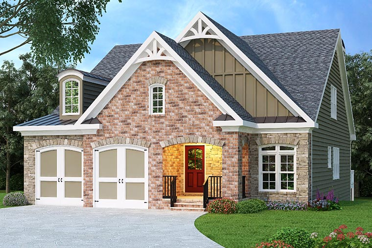 House Plan 72510 Elevation