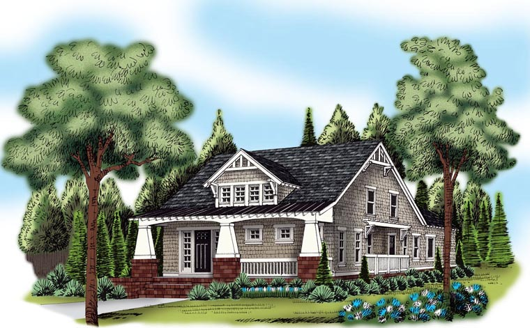 House Plan 72511 Elevation