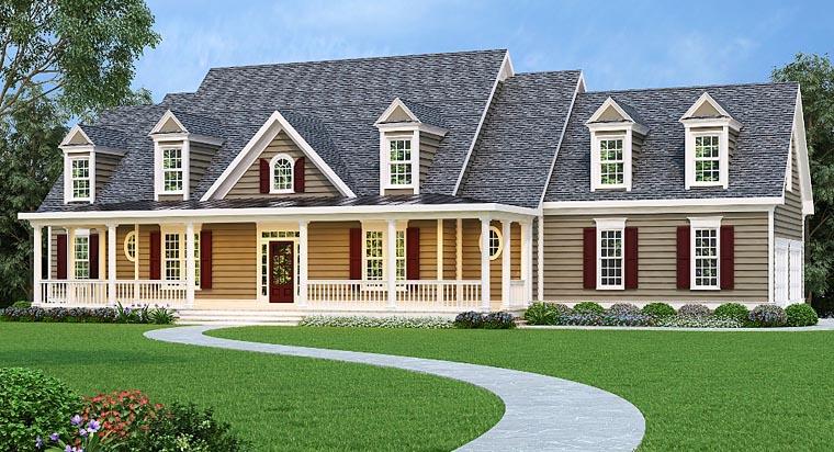 House Plan 72513 Elevation