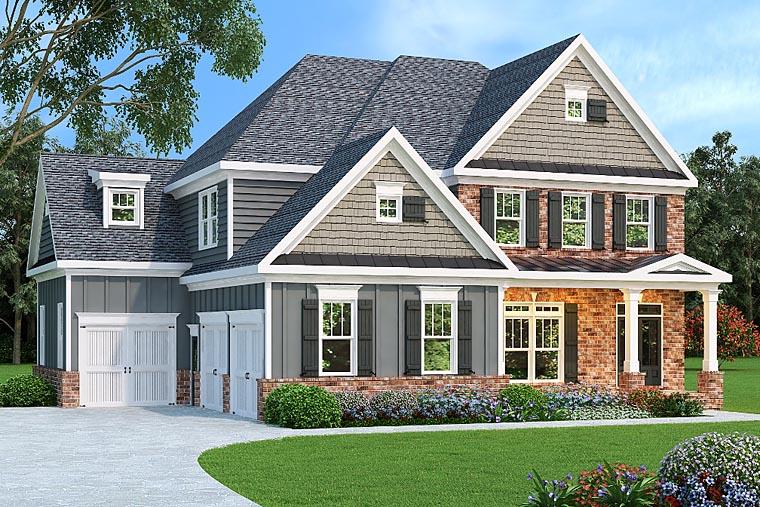 House Plan 72516 Elevation