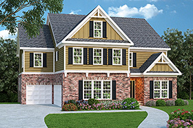 House Plan 72521 Elevation