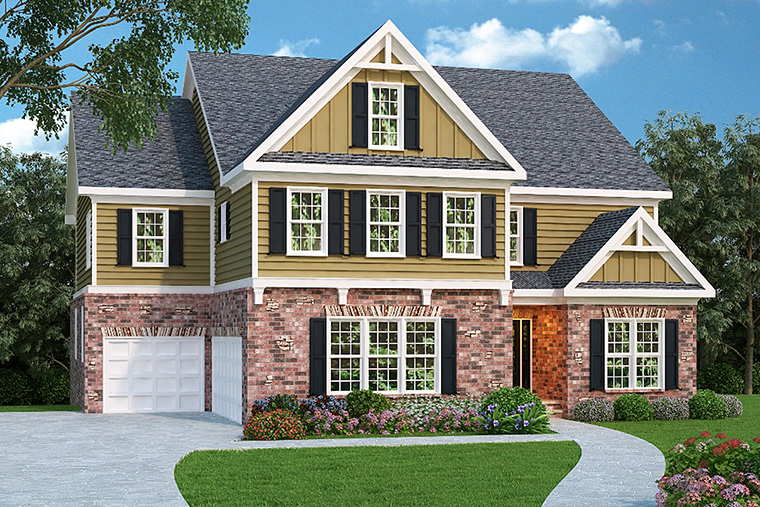 House Plan 72521 Elevation