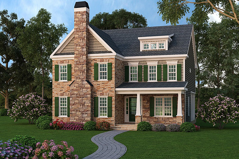 House Plan 72525 Elevation