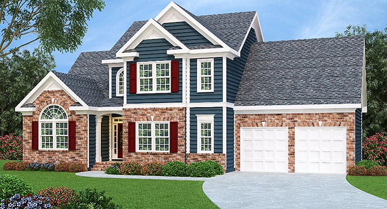 House Plan 72528 Elevation