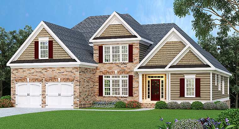 House Plan 72529 Elevation