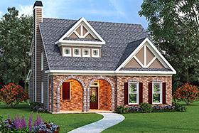 House Plan 72530 Elevation