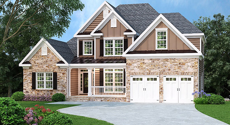 House Plan 72531 Elevation