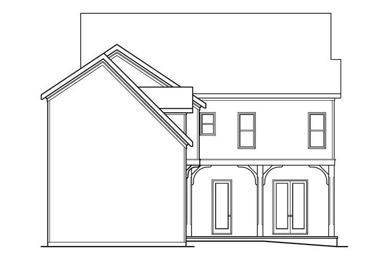 Tuscan House Plan 72532 Rear Elevation