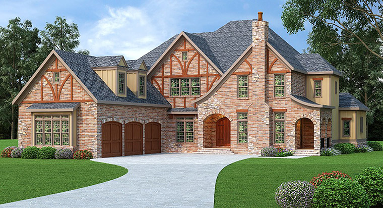House Plan 72533 Elevation