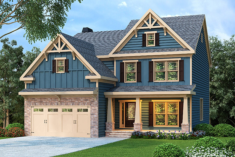 House Plan 72535 Elevation