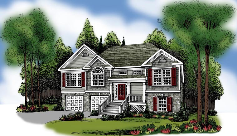 House Plan 72538 Elevation