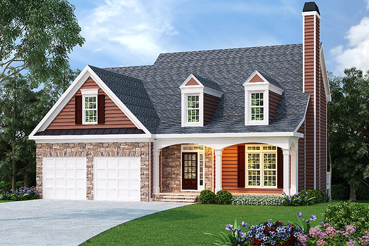 House Plan 72539 Elevation