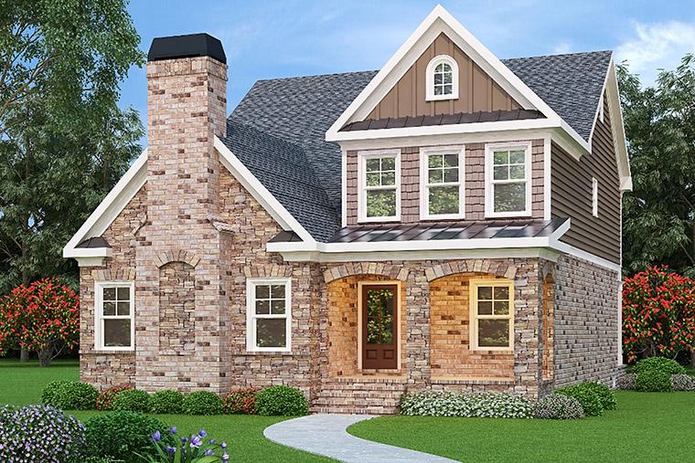 House Plan 72542 Elevation