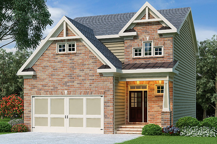 House Plan 72548 Elevation