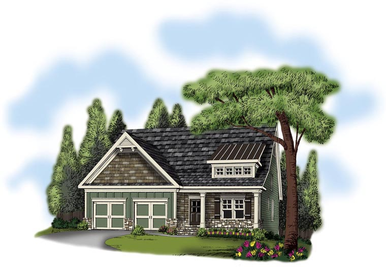 House Plan 72549 Elevation