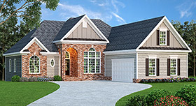 Ranch House Plan 72550 Elevation