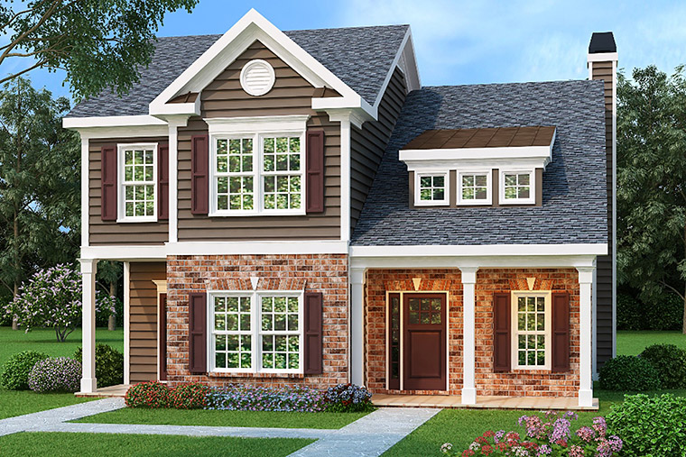 House Plan 72554 Elevation