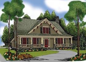 House Plan 72556 Elevation