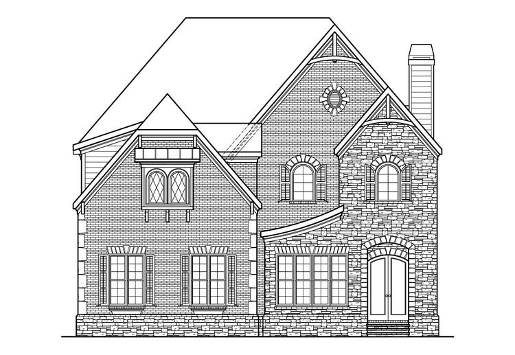House Plan 72557 | Style Plan with 4013 Sq Ft, 5 Bedrooms, 5 Bathrooms, 3 Car Garage