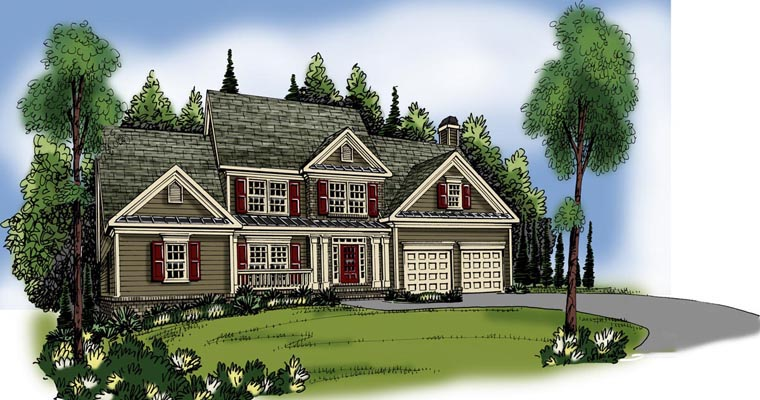 House Plan 72560 Elevation