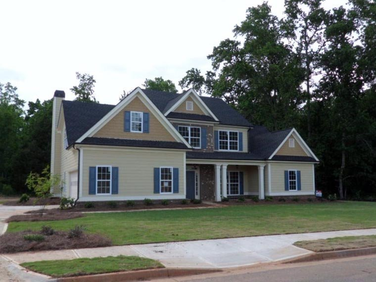 House Plan 72560 | Style Plan with 2351 Sq Ft, 3 Bedrooms, 3 Bathrooms, 2 Car Garage