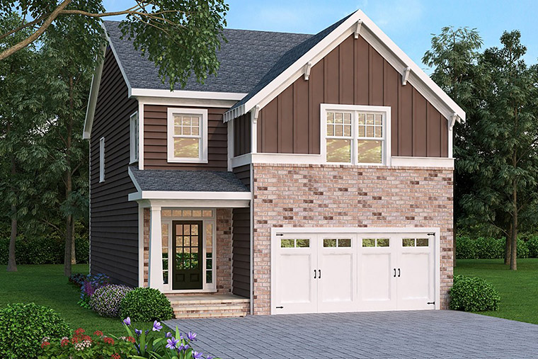 House Plan 72562 Elevation
