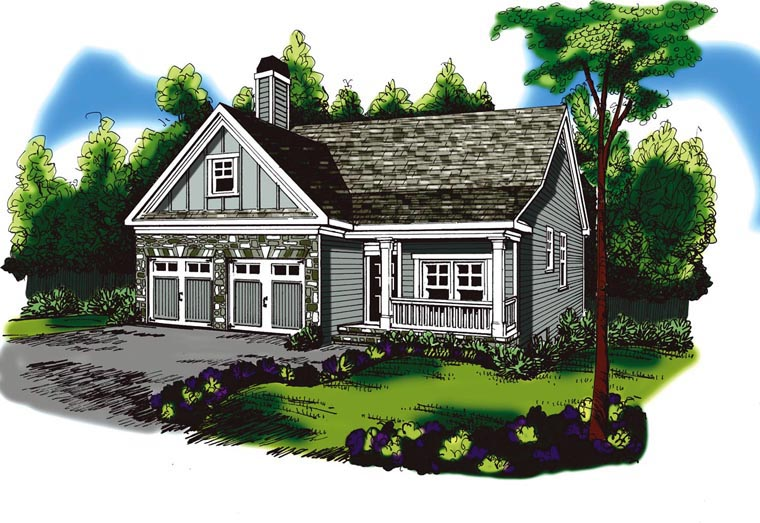Ranch House Plan 72563 Elevation