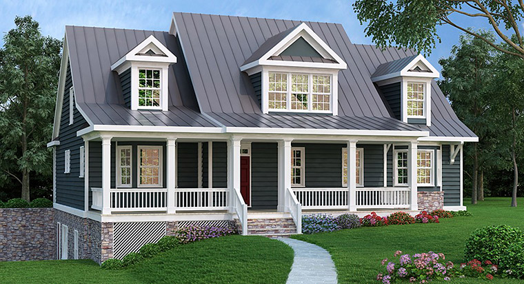 House Plan 72565 Elevation