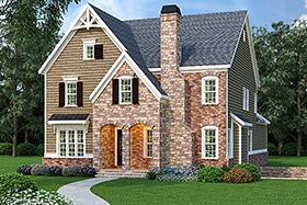House Plan 72567 Elevation