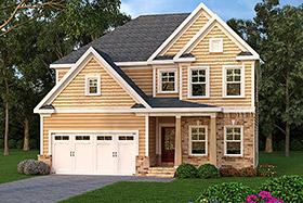 House Plan 72572 Elevation