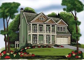 House Plan 72573 Elevation