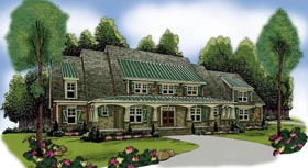 House Plan 72576 Elevation