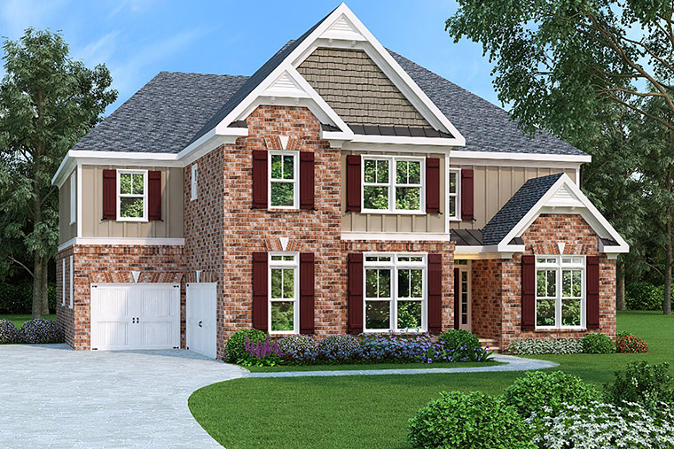 House Plan 72579 Elevation