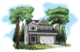 House Plan 72581 Elevation