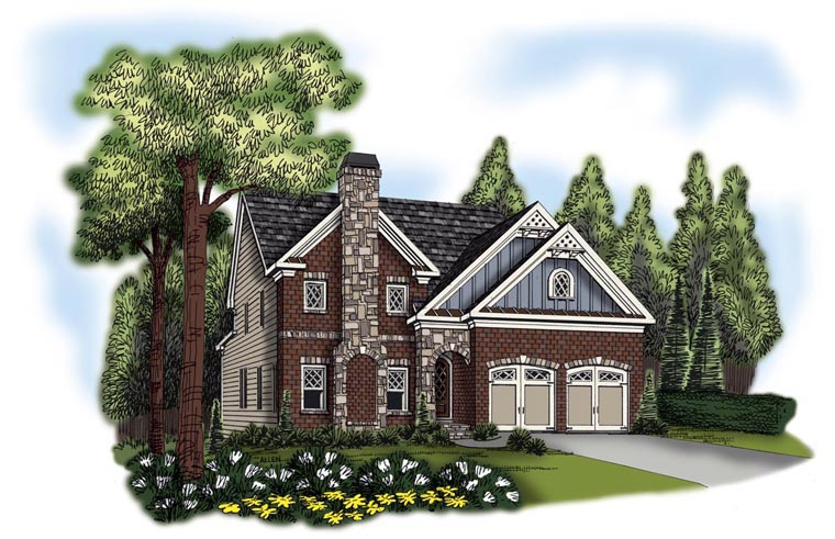 House Plan 72583 Elevation