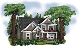 House Plan 72585 Elevation