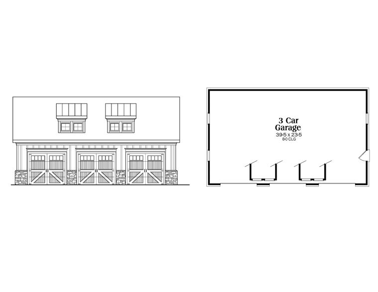 House Plan 72587