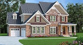 House Plan 72589 Elevation