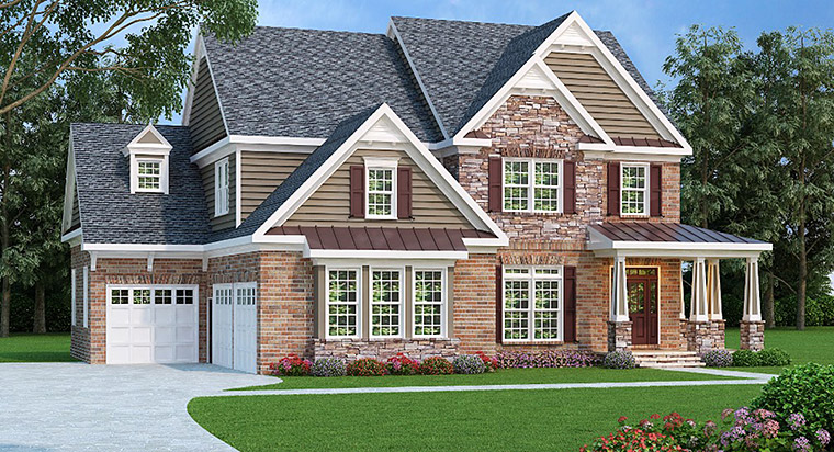 House Plan 72589 Elevation