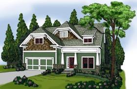 House Plan 72594 Elevation