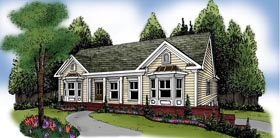 Ranch House Plan 72598 Elevation