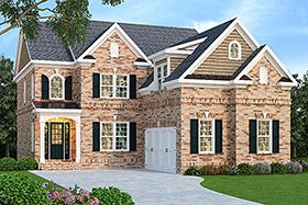 House Plan 72600 Elevation