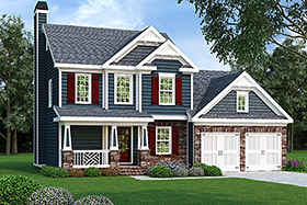 House Plan 72601 Elevation